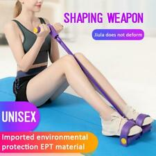Multifunctional Tension Rope Fitness Yoga Resistance Band Latex Pedal Exerciser