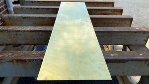 """.090"""" Brass Sheet,  C260 Yellow Brass 12"""" x 48"""""""