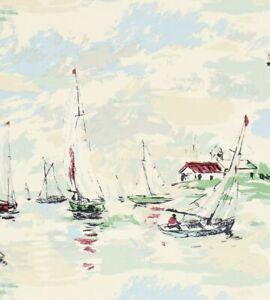 Sanderson | Sail Away | 214588 | 1 Roll | RRP £69 Per Roll