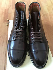 Alden 4060Y Shell Cordovan Cap Toe Boots - Bordo (Color 8) - Size 7E