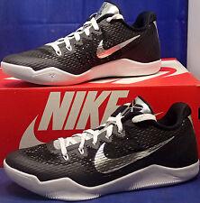 Nike Kobe XI 11 Mamba Day QS iD Black White Metallic Silver SZ US 7 (865773-994)