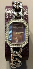 Baby Phat Women's Purple Watch w/ Crystals Style 1277PP