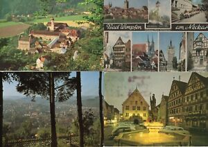 Baden-Württemberg - Ansichtskarten - AK - Postkarten - Sammlung - Konvolut (866)