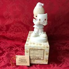 "Precious Moments 1981 ""Pm-822"" ""Put On A Happy Face"" New In Box-Spec. Edition"