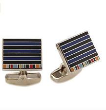 Paul Smith Cufflinks -BNWT 2 Tone Stripes & Signature Multi Stripe Edge RRP:£100