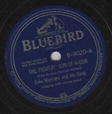 Zeke Manners on 78 rpm Bluebird B-9020: The Fightin' Son of a Gun 1942 V