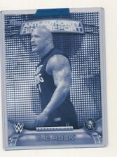 2016 WWE Topps Anti Authority Perspectives 5x7 1/1 Exclusive The Rock