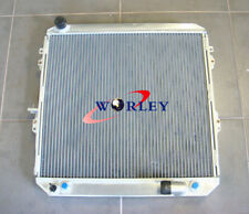 52mm For Toyota Surf Hilux 2.4 Turbo Diesel LN130 AT/MT Aluminum Radiator