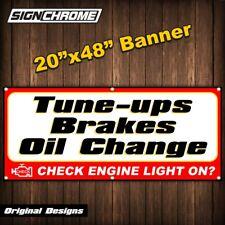TUNE UPS BRAKES OIL CHANGE BANNER muffler repair exhaust shocks alignment auto