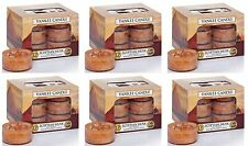 72 YANKEE CANDLE Egyptian Musk Tealights -  6 boxes of 12 Tea Lights