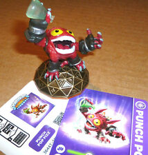 Skylanders Giants PUNCH POP FIZZ Card Sticker Web Code