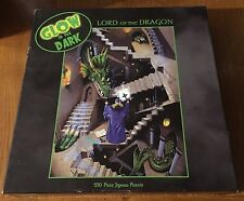 """Lord of the Dragon"" Glow in the Dark Jigsaw Puzzle by Ceaco - 2000 Ed. - Sealed"