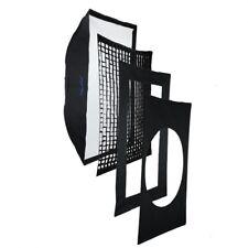 METTLE Pro-Softbox  mit Grid, zwei Masken, 80x120cm f. HENSEL Expert/Contra