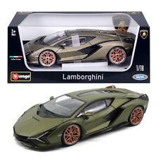 Bburago Lamborghini Sian FKP 37 1 18 Diecast Scale Car Luxury Vehicle