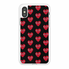 comme des garcons for iPhone 5 6 7 8 X XR XS MAX samsung cover case