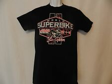 Women's Graphic Tee OCTANE Black/Pink World Superbike AMA T-Shirt