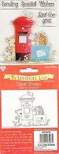 HELZ CUPPLEDITCH timbres clair-la ligne de Londres-Envoi souhaits particuliers