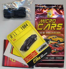 Micro Cars 2015 FERRARI GTO #11 card+sticker+bag+bpz 1/100 Kyosho MIB