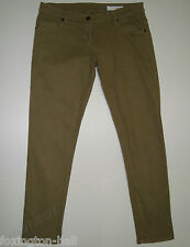 "BEAUTIFUL SASS&BIDE MOSS GREEN CROPPED SKINNY JEANS 29 ""LOVESTATE"""