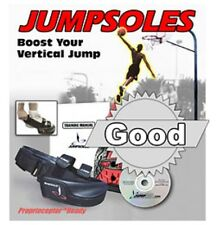 Jump Soles Improve Your Vertical Speed Training Shoes Small Mens 5-7~ w/DVD NEW