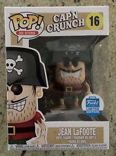 Funko Pop Quaker Oats Jean LaFoote Funko Shop Exclusive, New In Unopened Box