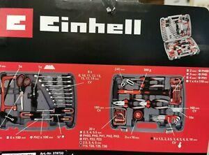 Einhell Werkzeugkoffer 65 teilig Set Schraubendreher Schlüssel Hammer