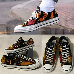 Converse x Undefeated Tiger Chuck 70 Ox Low Top Varsity Jacket Size 10.5 162981C