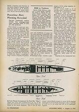 1945 Aviation Article Martin Mars Postwar Version  Commercial Transport Flying
