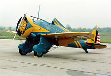 "1/4 SCALE BOEING P-26A  ""PEASHOOTER""  84 INCH WING   RC AIrplane Rolled Plans"