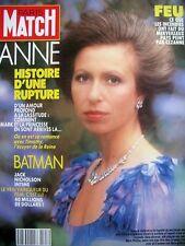 PARIS MATCH N° 2103 ANNE BATMAN JACK NICHOLSON INTIME KIM NOVAK ETE 39  1989