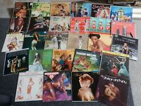 Cheesecake-Risque-Sexy vintage album jackets~lot of 26 LP Album Jackets ONLY~~