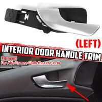 Interior Door Handle Front Left Inner For 10-19 Alfa Romeo Giulietta 156092167