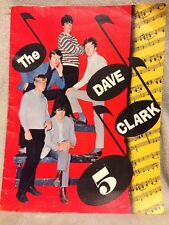 The Dave Clark 5 Over & Over Concert Program Like It Like That Epic Records 1965
