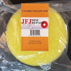 JFJ Easy Pro Buffing Pad Coarse Yellow Pad - 647226260148 Brand New