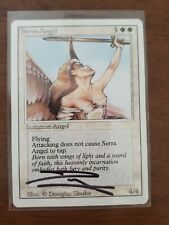 MTG Revised Serra Angel Artist Proof AP Signed Sketched