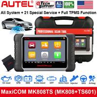 Autel MK808TS OBD2 Car Car Diagnostic Scanner Tool Code Reader TPMS Key Porgram