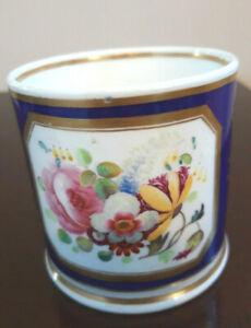 Antique Grainger, Worcester cobalt blue / gilt / floral Mug / Tankard,