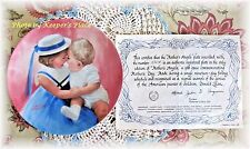 Donald Zolan MOTHER'S ANGELS 1st Mothers Day Collectible Plate #5364A With COA