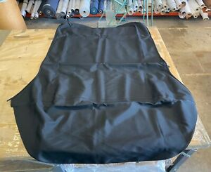 Saab 9-3 (1998-2003), Replacement Convertible Top, STF Canvas, Black on Black