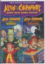ALVIN AND THE CHIPMUNKS MEET FRANKENSTEIN MEET THE WOLFMAN RARE NEW 2-Movie DVD