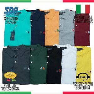 POLO Polo Ralph Lauren Uomo Custom Fit Cotone maglietta SALDI estate offerta
