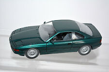 BMW 850i, Vert, M 1:24 SCHABAK 1630 emballage d'origine! voiture miniature de collection rar