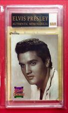 Elvis Presley-Authentic Memorabilia Piece Of The King'S Hair (Amazing Find)