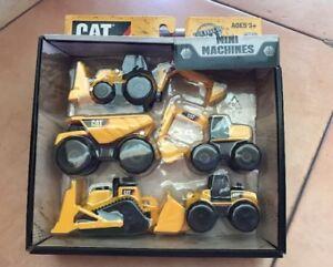 Caterpillar CAT Construction Mini Machines 5 Pack Ages 3+ (O)