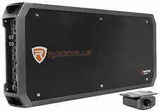 Rockville RXD-M5 Competition 8000 Watt/4000w RMS Mono 1 Ohm Amplifier Car Amp