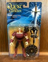 "Ruber Vintage Quest For Camelot 6"" Action Figure 1997 Hasbro 90s WB Movie"