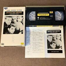 DEPECHE MODE Some Great Videos JAPAN VHS VIDEO VTM-107 w/ Slip Case + Insert