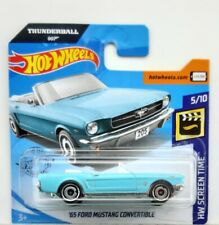 Hot Wheels 2020 65 Ford Mustang Convertible HW Screen Time