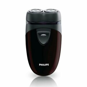 Philips Men's Electric Travel Shaver, Cordless, Battery-Powered  PQ206