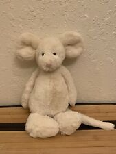 Jellycat medium Cream bashful mouse